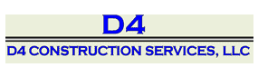 D4 Construction Logo